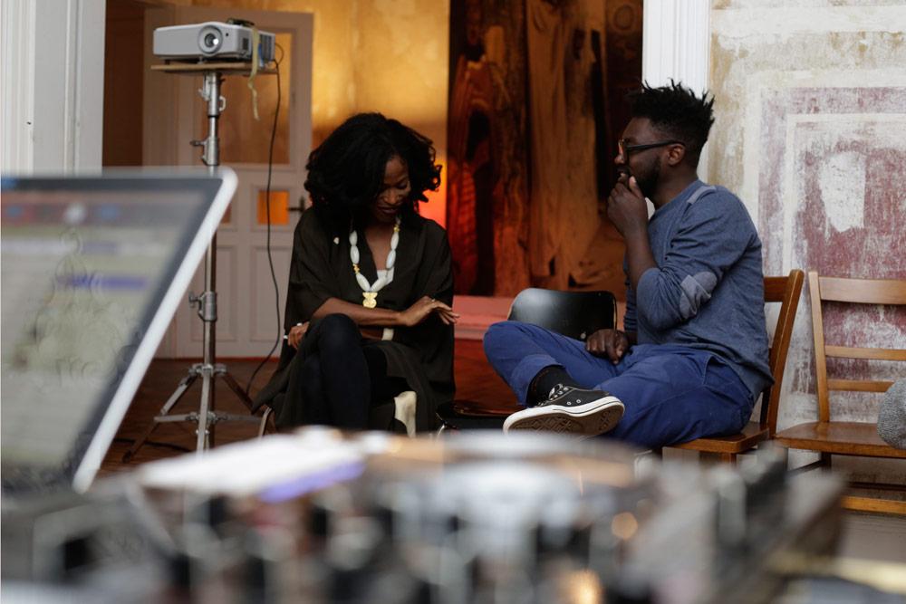 Taiye Selasi (NYC, Rom, Accra, Berlin) und Bill Sellanga (Nairobi)
